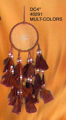 4'' Dream Catchers Multicolor 12/Set