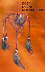3'' Dream Catchers Multicolor 12/Set