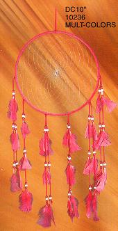 10'' Dream Catchers Multicolor 12/Set