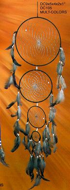 35'' Dream Catcher 5 Rings 4/Set