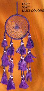 5'' Dream Catchers Multicolor 12/Set